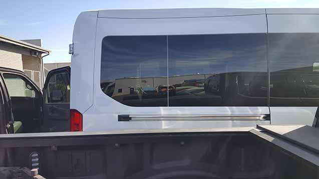 van side door windshield replacement 2